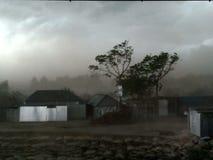 Thunder Strom in Baishak. Suddenly Thunder Strom in padma Royalty Free Stock Photos
