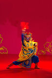 Suddenly turn hostile master. China in changsha city opera theater, the singing and dancing Stock Photos