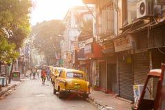 Sudder街,加尔各答,印度 免版税库存图片