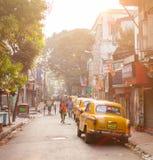 Sudder街,加尔各答,印度 库存照片