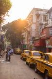 Sudder-Straße, Kolkata, Indien Lizenzfreie Stockfotografie