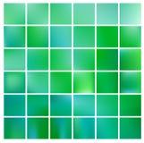 Suddig bakgrund för abstrakt natur Grön lutningbakgrund med solljus Ekologibegrepp för din grafiska design Arkivfoton