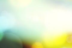 Suddig bokehrengöringsdukbakgrund Royaltyfri Foto