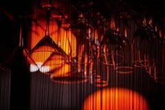 Suddig hängande exponeringsglasbakgrund Royaltyfria Foton