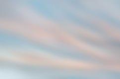 Suddig himmelbakgrund Arkivfoton