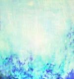 Suddig naturbakgrund för blå turkos arkivfoton