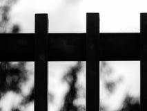 Suddig staketbakgrund Royaltyfri Foto