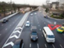 Suddig trafik Royaltyfri Foto