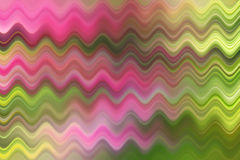Suddig våglinje, färgrik abstrakt bakgrund Arkivbilder