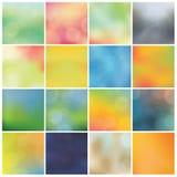 Suddiga bakgrunder för vektor - enorm packe. Moderiktig colorfully - boke Arkivfoton