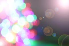 Suddiga felika ljus Arkivbild
