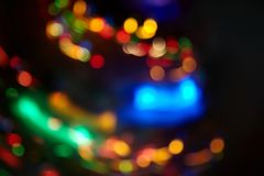 Suddiga julljus för rörelse Royaltyfria Bilder