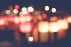 Suddiga stadsljus i natten Fotografering för Bildbyråer