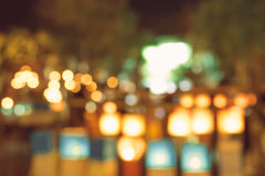 Suddiga stadsljus i natten Arkivfoto