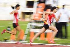 suddighet 4x400 meters s-kvinnor Arkivbild