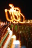 Suddighet för färgblack för lampor abstrakt bakgrund Arkivbilder