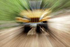 suddighet jeep Arkivfoto