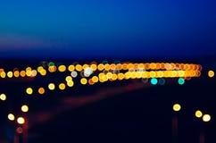 Suddighet lampor Arkivfoto