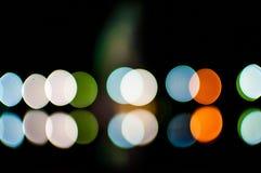 Suddighet lampor Arkivfoton