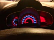 suddighet speedometer arkivfoto
