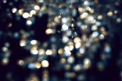 suddigheta defocused bildlampor för cirklar Arkivbild