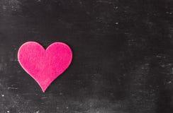 suddigheta hjärtor Hjärta för två rosa färg Älska begreppet för dag för moder` s och dag för valentin` s Vykort för dag för valen Royaltyfria Bilder