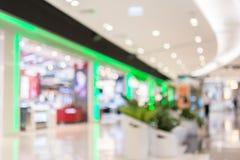 Suddighetsbild i shoppinggallerian, bakgrund Royaltyfria Bilder