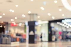 Suddighetsbild i shoppinggallerian, bakgrund Fotografering för Bildbyråer