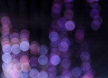 Suddigt färgljus för abstrakt bokeh och skuggabakgrund Arkivbild