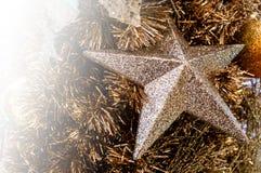 Suddigt julträd, snö, jul, bakgrund royaltyfri fotografi