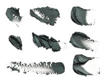 Suddmålarfärg av kosmetiska produkter Royaltyfria Bilder