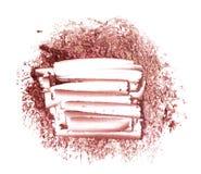 Suddmålarfärg av kosmetiska produkter Arkivfoton