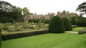 Sudeley Castle garden in England Royalty Free Stock Photos