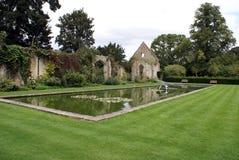 Sudeley castle garden in Winchcombe, Cheltenham, Gloucestershire, England Stock Photo