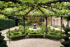 Sudeley Castle garden, Winchcombe, England Stock Images
