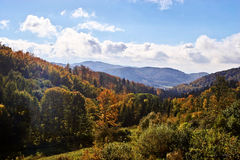 Sudety Range in Southern Poland Royalty Free Stock Images