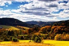 Sudety Range in Southern Poland Stock Photo