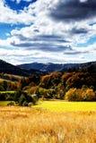 Sudety Range in Southern Poland Royalty Free Stock Photo