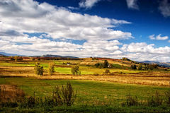 Sudety Range in Southern Poland Royalty Free Stock Photos