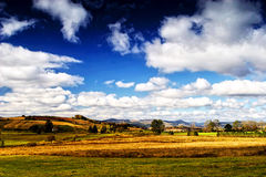 Sudety Range in Southern Poland Royalty Free Stock Photography
