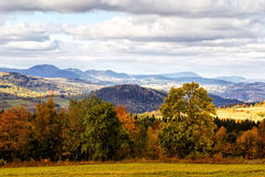 Sudety Range in Southern Poland Stock Photos