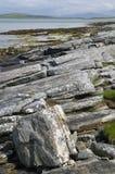 Sudhanais岩石海岸  库存图片