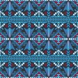 Sudoeste nativo americano, indiano, asteca, teste padrão sem emenda do Navajo Projeto geométrico ilustração do vetor