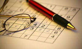 Sudoku Images stock
