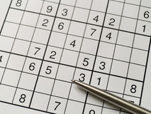Sudoku Images stock