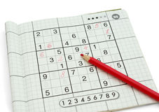 Sudoku Royalty Free Stock Photography