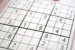Sudoku Stockfotos