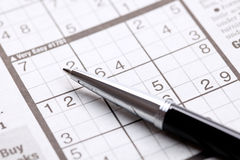Sudoku Stock Photography