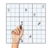 Sudoku stock foto's
