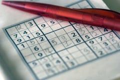 Sudoku Imagem de Stock